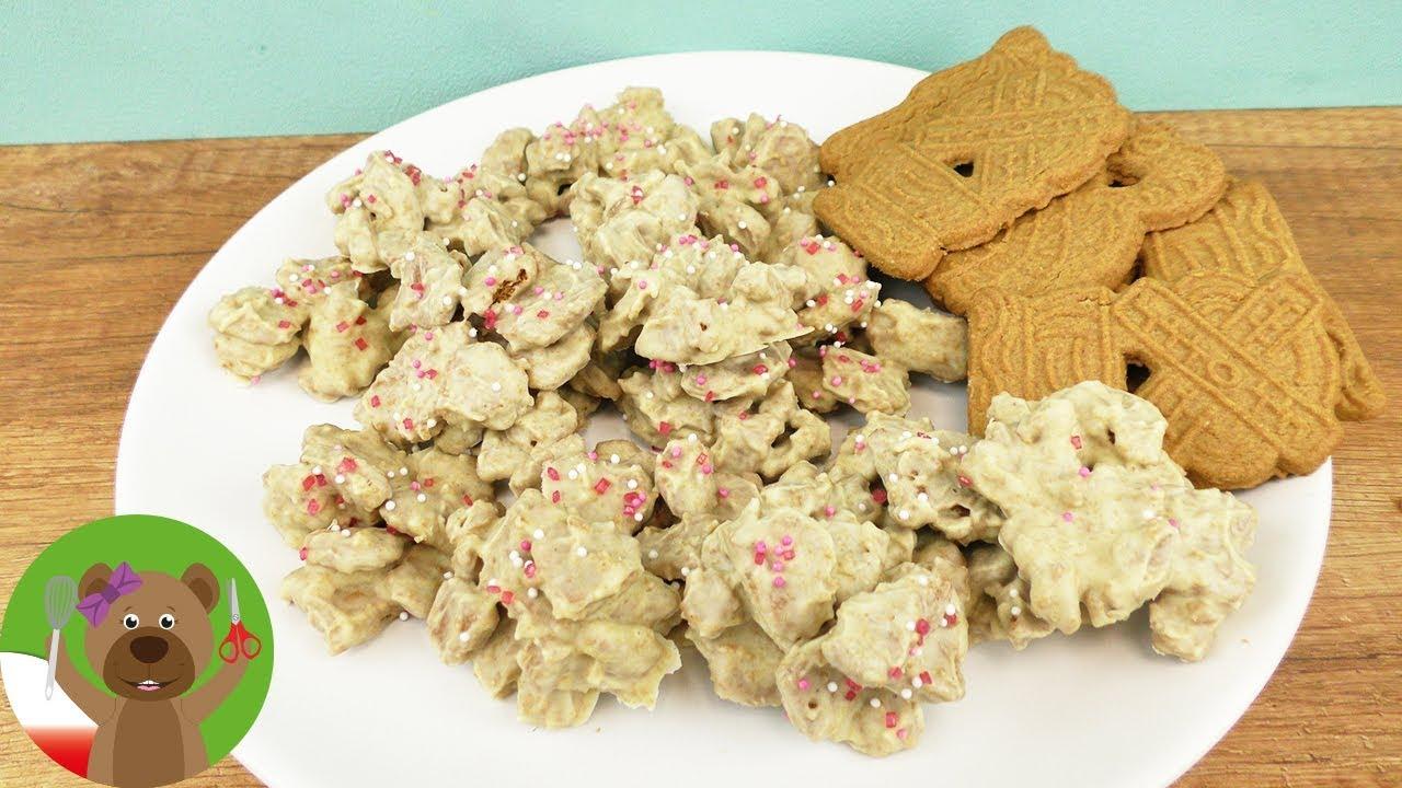 Speculatius Crossies | ciasteczka z herbatnikami imbirowymi | sposoby na przedświąteczną nudę