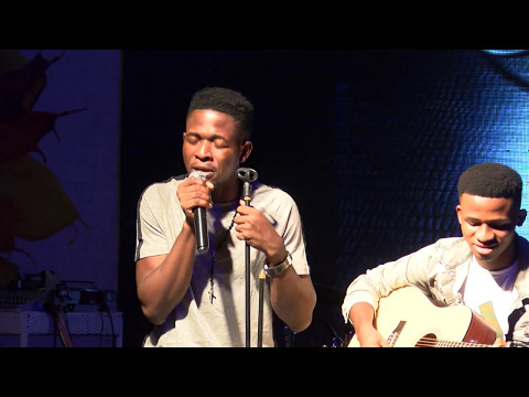 Johnny Drille performs (My Beautiful Love) at the PGM Live