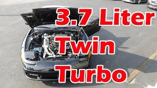Twin Turbo 3 7 Stealth 3000gt First Start Up