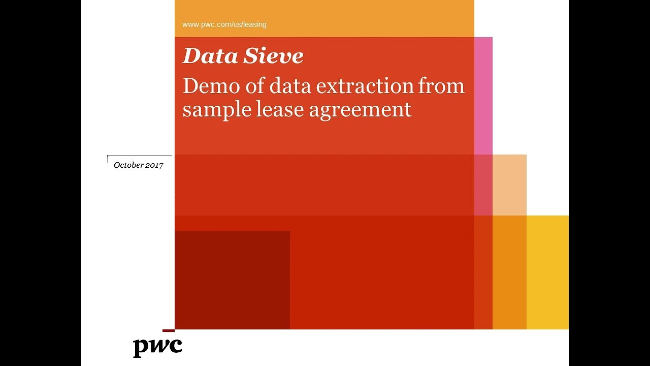 Data Sieve helps simplify and accelerate data extraction for