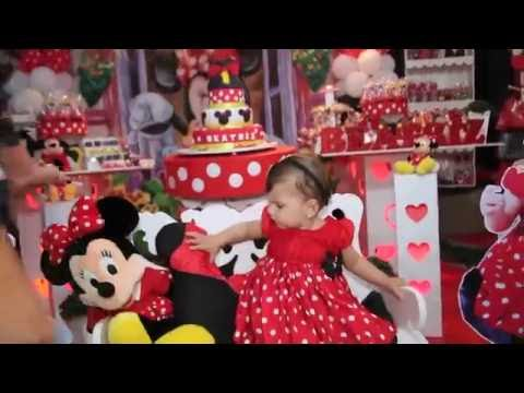 Festa Infantil  -  1 ano _ Minnie (Trailer)