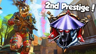 ENTERING 2ND PRESTIGE! // BEST CLASS SETUP // UNLOCKING DIAMOND CAMO // BLACK OPS 4 GAMEPLAY thumbnail