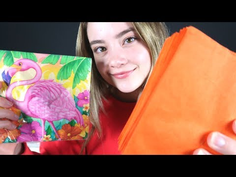 ASMR CRINKLES For Your TINGLES!! Goodwill Haul, Relaxing Whispering & Sounds For Sleep