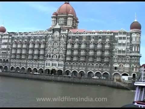 Hotel Taj and The Gateway of India from the Arabian Sea