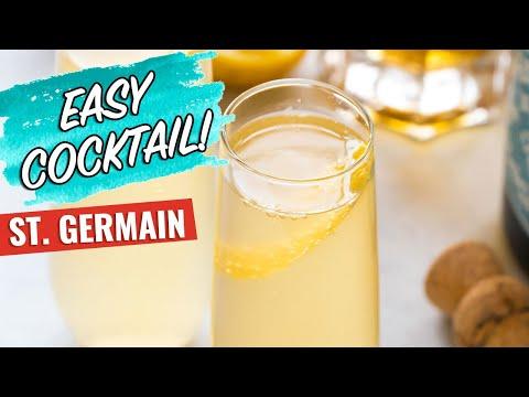 St  Germain Cocktail Recipe