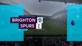 Download Video Brighton vs Tottenham - Amex Stadium - 2018-19 Premier League - FIFA 19 MP3 3GP MP4