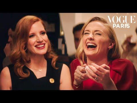 Sophie Turner and Jessica Chastain have dinner together | Vogue Paris