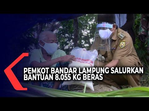 Pemkot Bandar Lampung Salurkan Bantuan Tahap Ke-3 Bagi Warga Terdampak Covid-19