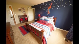 Top 40 Spiderman Bedroom Design Ideas For Boys Teenagers 2018   Civil War Scene Picture Decorations
