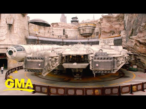 Shelley Wade - Here's What It's Like To Fly The Millennium Falcon At Star Wars Land!
