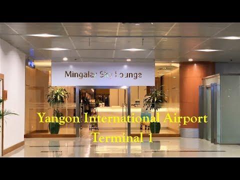 Mingalar Sky CIP Lounge, Yangon International Airport Terminal 1