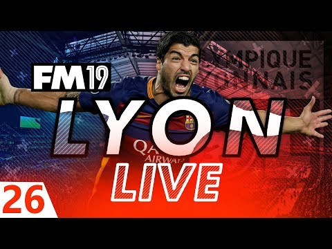 Football Manager 2019 | Lyon Live #26: MISSION IMPOSSIBLE #FM19
