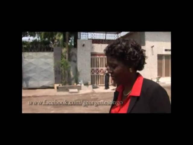 MONUC Réalité fait le portrait de Georgette Biebie Songo
