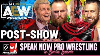AEW DYNAMITE: AEW World Title Eliminator| Speak Now Pro Wrestling w/ Denise Salcedo & Robbie Fox