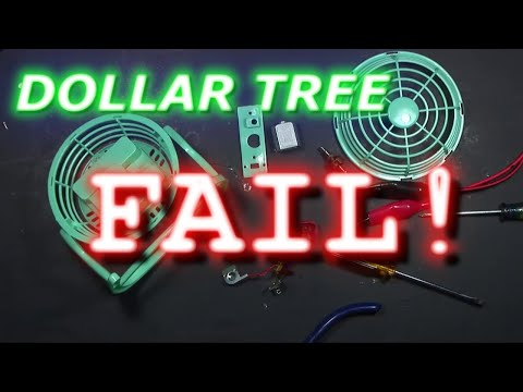 Dollar Tree  Fan Teardown- Garbage? Fire Hazard?