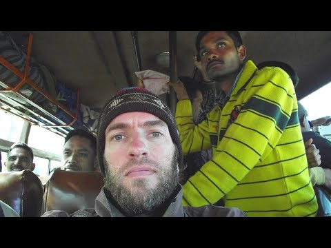 Brutal Bus Trip From the Himalayas to Kathmandu