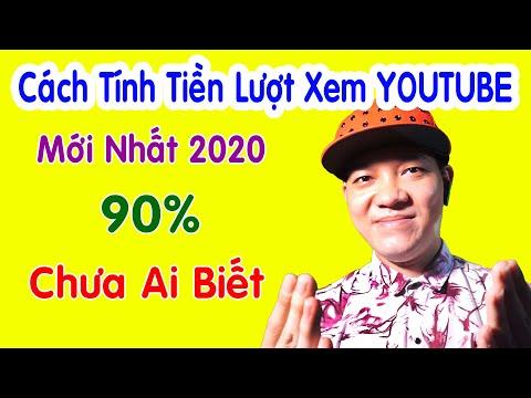 Cách Tính Tiền Lượt Xem Youtube Mới Nhất 2021
