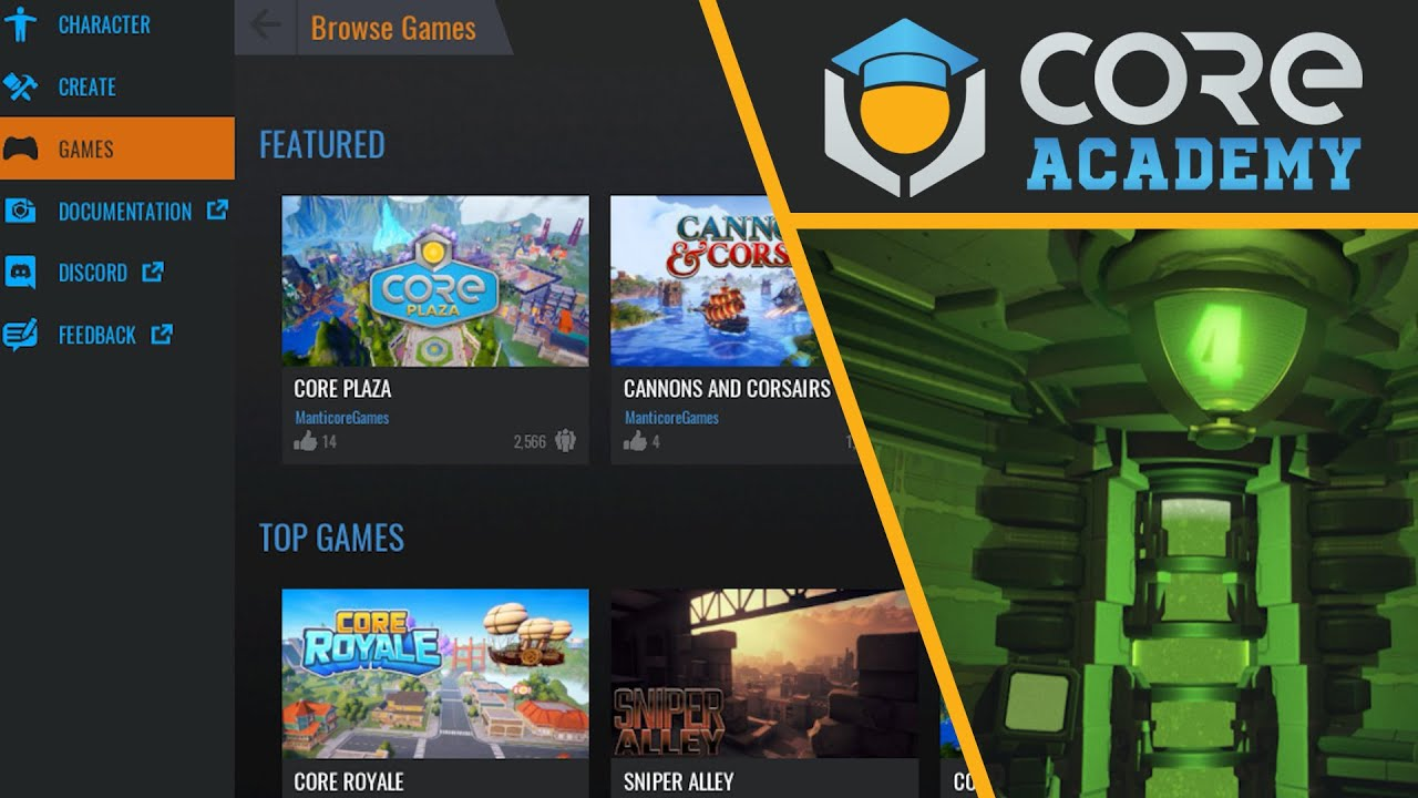 How to publish your own video game with Core for sharing and testing