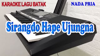 Download SIRANGDO HAPE UJUNGNA [KARAOKE LAGU BATAK] ARTHA SISTER ll NADA PRIA BES=DO