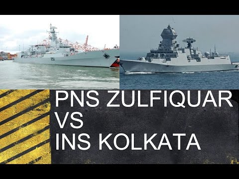 PNS ZULFIQUAR VS INS KOLKATA: UNBIASED COMPARISON