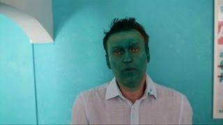 Blogger Nawalny: Farbattacke auf Putin-Kritiker