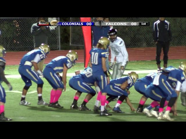 Colonials Football vs CRL Week 6 10/14/16