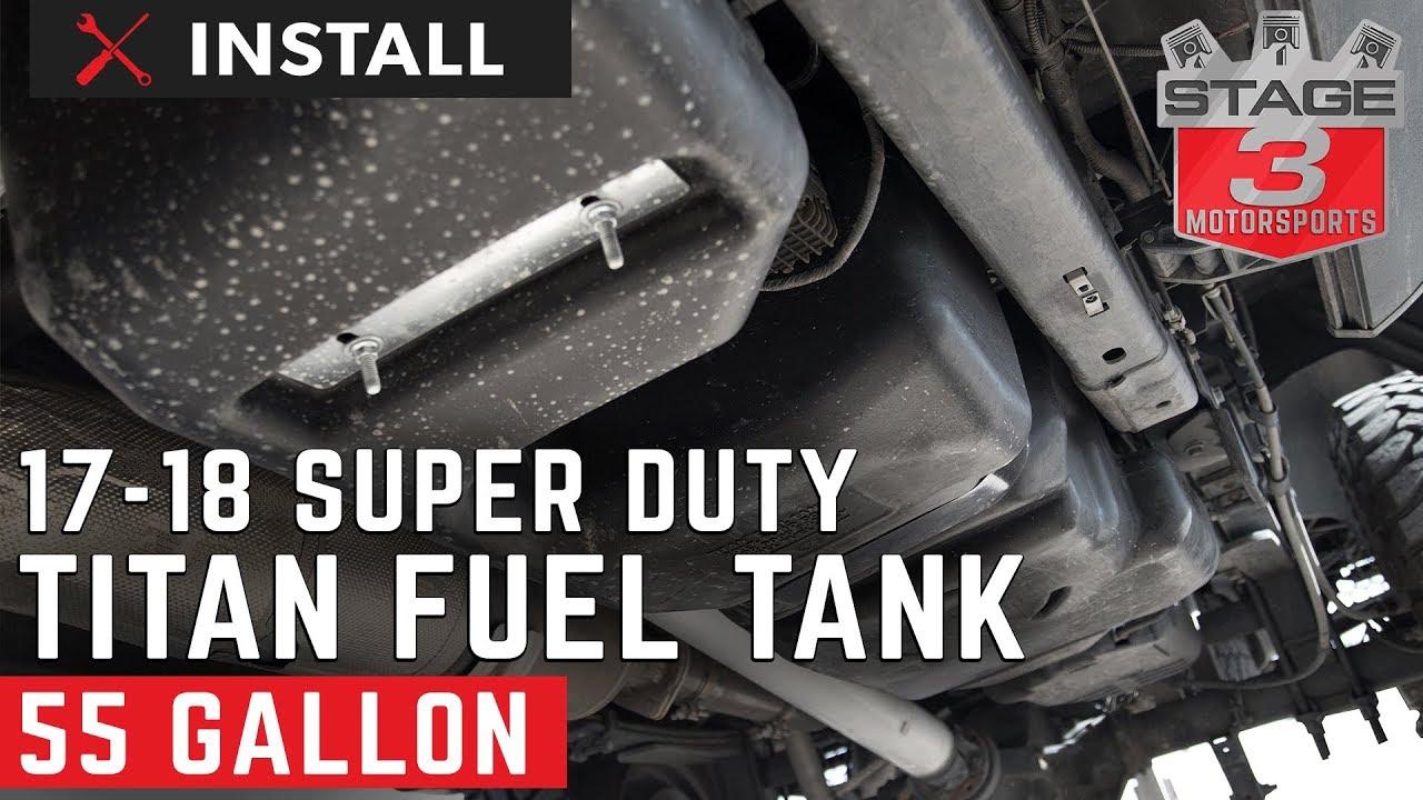 2017-2018 F250 & F350 6 7L Titan Generation 6 Fuel Tank Install