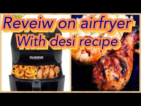 nuvawe-brio-digital-airfryer-review-with-healthy-recipe-|pakistani-usa-mom-|-urdu-vlogs