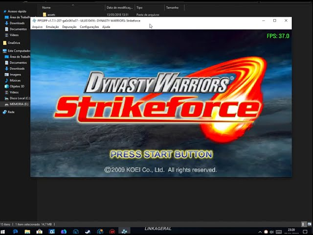 Dynasty warriors: strikeforce psp gameplay (ppsspp) 1080p youtube.