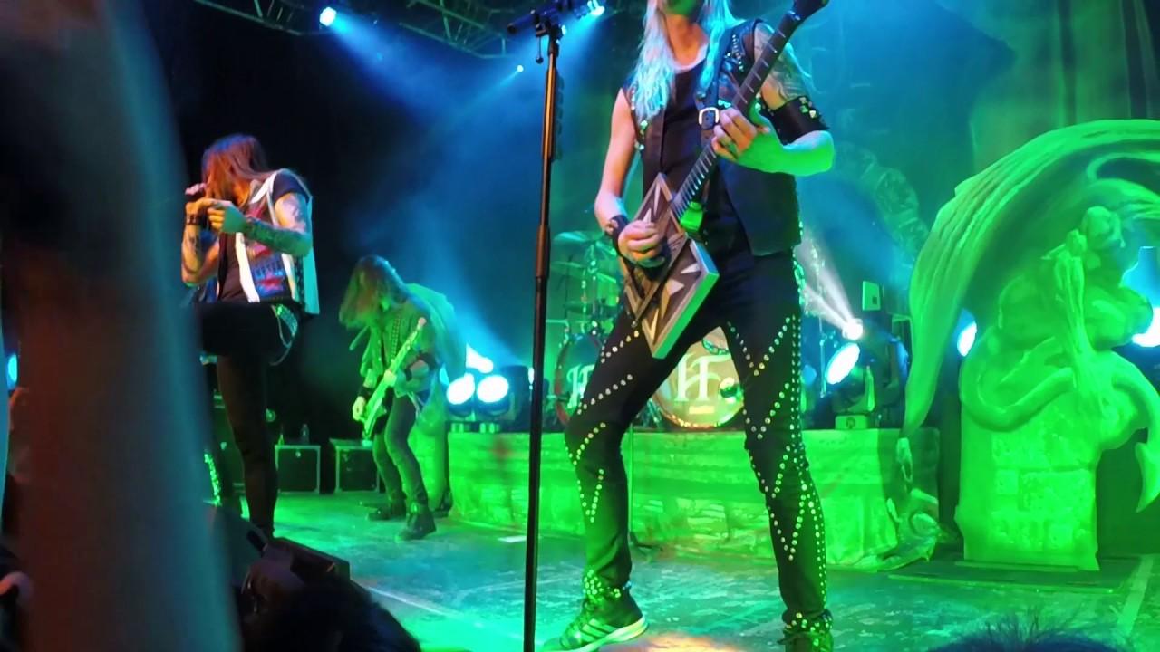 Hammerfall - Full Concert @ Ninkasi Kao (Lyon, 23/01/2017) - YouTube