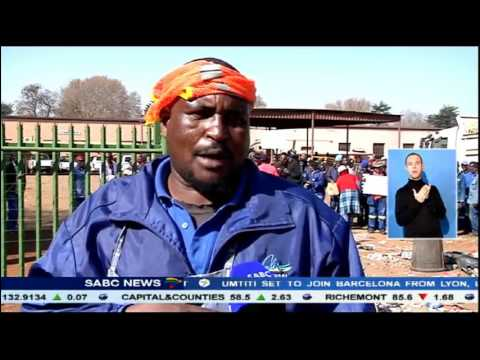 Services at the Mid-Vaal municipality disrupted since last week