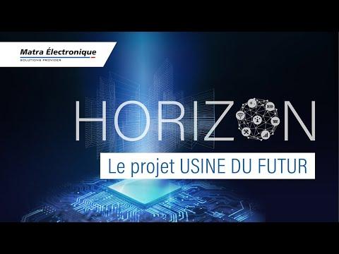 Présentation vidéo de l'usine du futur par Matra Électronique