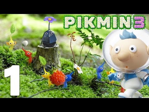 Pikmin 3 Episode 1 FR Wii U | L'aventure commence !