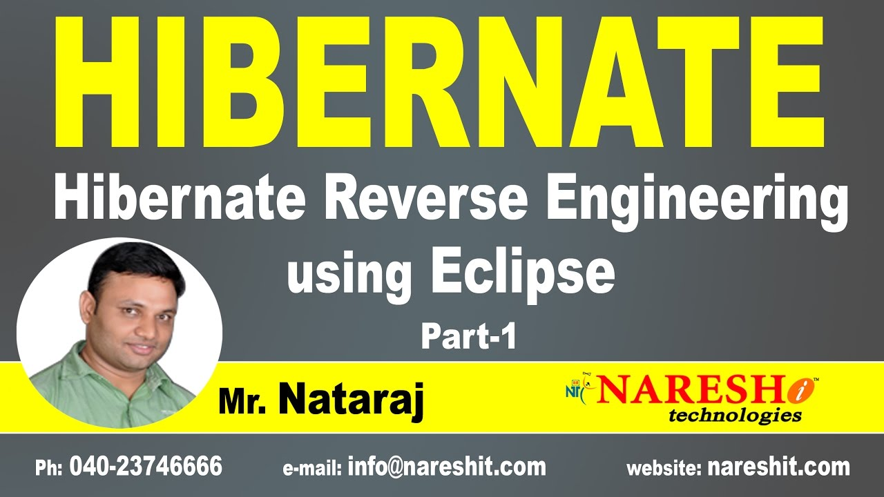 Hibernate Reverse Engineering Using Eclipse Part 1
