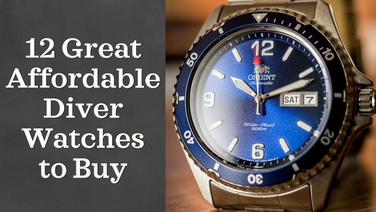 bcdd8ed5e8f Best Diver Watches Under  300