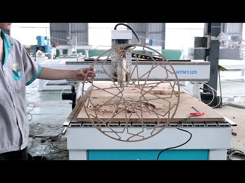 4'x8' CNC Wood Router MDF Hollow Cutting Home Decor