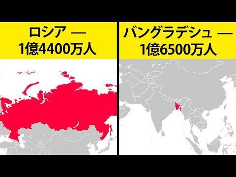 数字で見る世界の14の事実