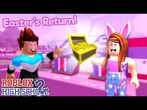 Como Ganhar O Egg Professor No Roblox Roblox High School 2 How To Get Egg Hunter Title 1 000 Credits In Roblox High School 2 Roblox Youtube
