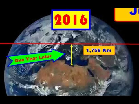100% UNDENIABLE VISUAL PROOF POLES SHIFTED @ 2016! Photon Belt? Planet X? Wobble? Believe it or NOT!