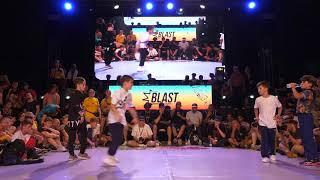 Pauk & Kesl vs Malik & Raptor - Finał 2vs2 kids na Outbreak Europe 2018