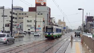 2017.10.6(金)13:24福井鉄道 仁愛女子高校停留場 770形(770+771)