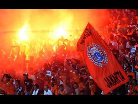 The Jakmania VS Arema Malang Bersatu Kita damai