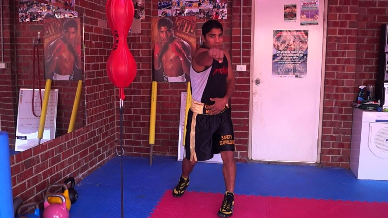 Pradeep S Boxing Trainng Video In Hindi For Indian Boxers Youtube