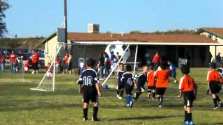 Chachi's soccer game: cowboys vs tigers