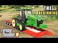 FS19- ONE DEERE, ONE TRUCK   ONE PIECE OF LAND   THE START OF THE FARM SERIES