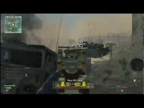 MW3 FFN Gunner Vs. QS Snipers 1v4 Handicap Match on Dome