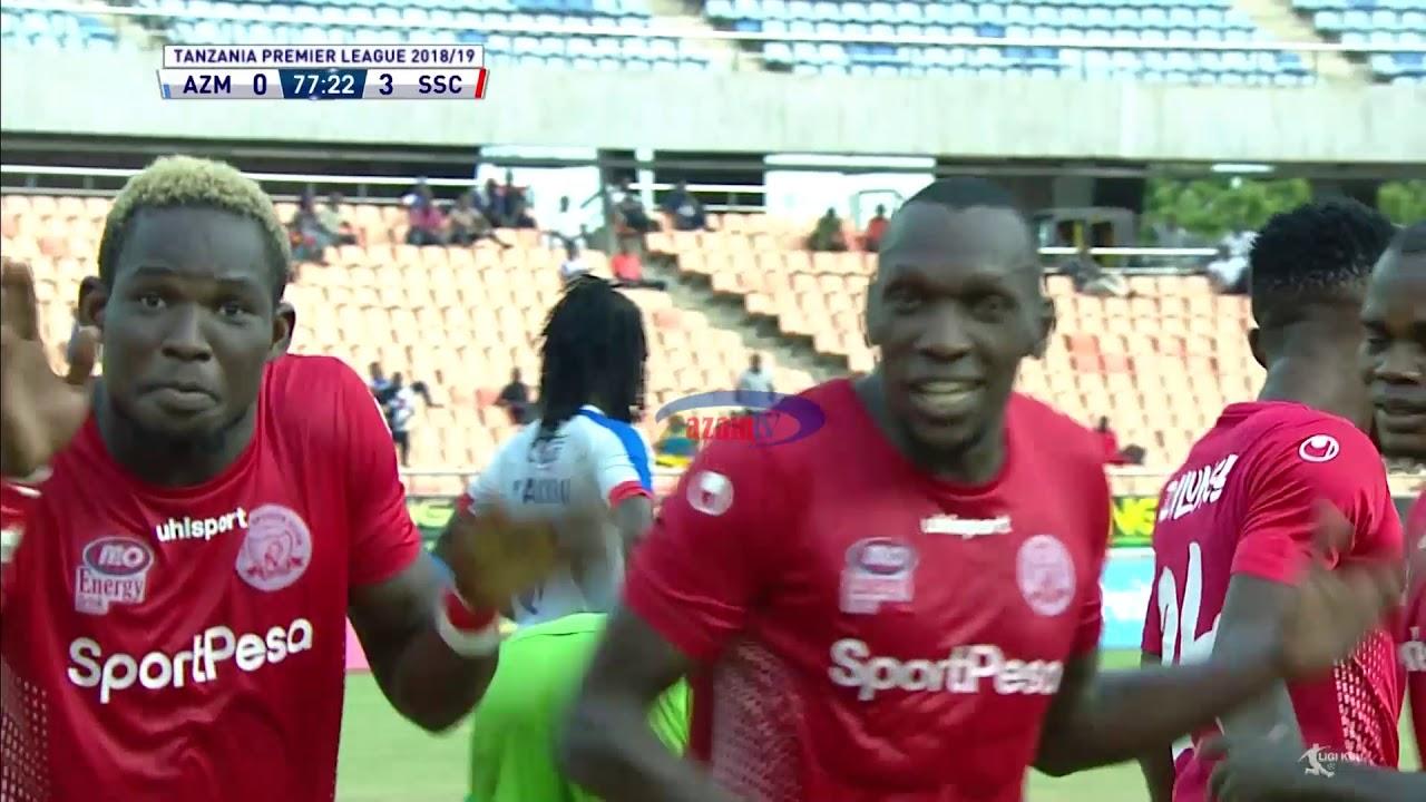 MAGOLI YOTE: AZAM FC 1-3 SIMBA SC (TPL - 22/02/2019)