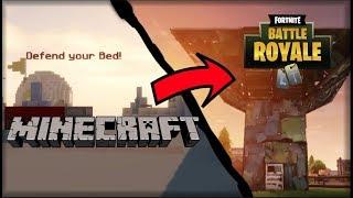 Minecraft Meets Fortnite!