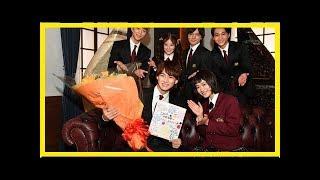 キンプリ平野紫耀:「花晴れ」チームのサプライズに男泣き! 杉咲花らが...