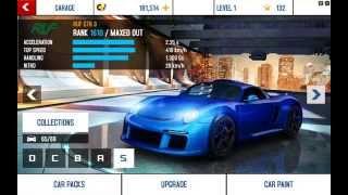 Asphalt 8 1.6.0e All Cars Hack
